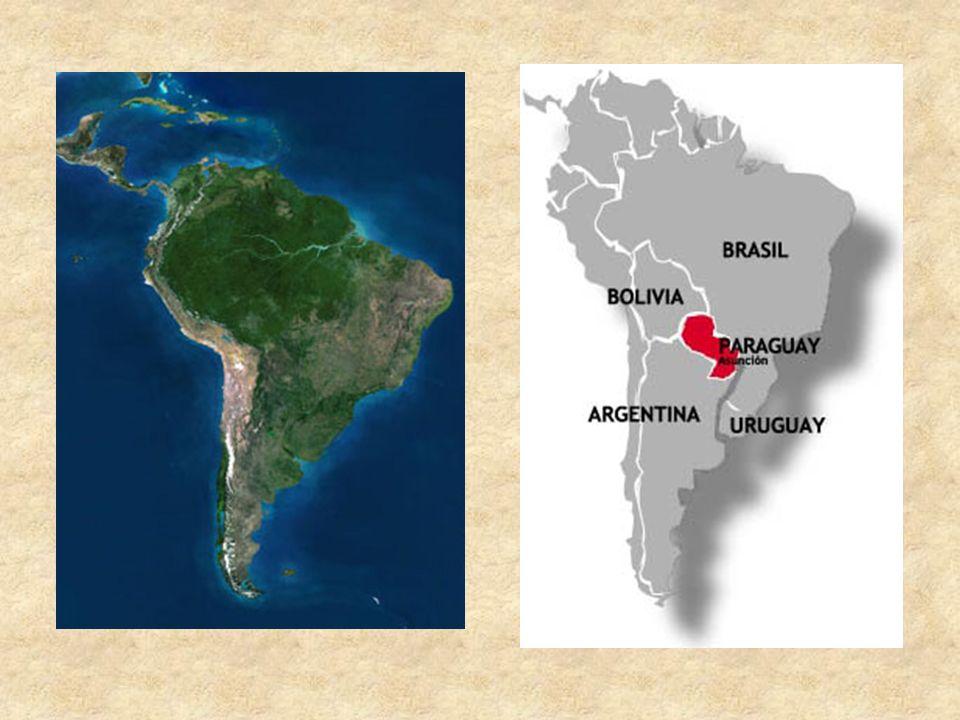 Geografisches Fläche: 406.752 km² Einwohner: rund 6 Mio tropisches bis subtropisches Klima (bis zu 50°C) durch den Fluss Paraguay in zwei Gebiete geteilt