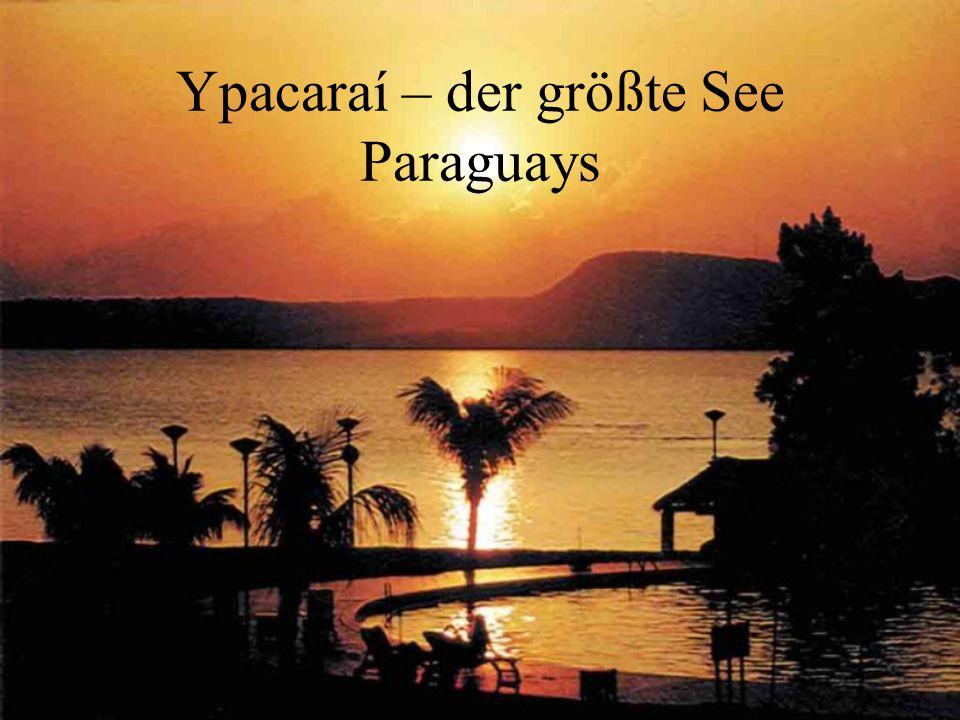 Ypacaraí – der größte See Paraguays