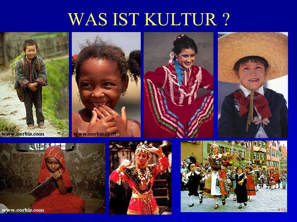 Definitionen & Bestandteile von Kultur Kultur & Nationalität Realität und Kulturelle Merkmale Nationale Kultur und Organisation Kulturelle Feindseligk