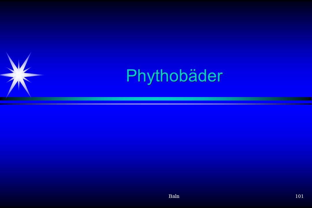 Baln101 Phythobäder