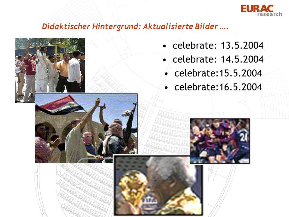 Didaktischer Hintergrund: Aktualisierte Bilder ….