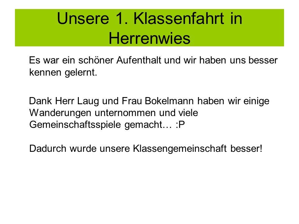 Unsere 2.Klassenfahrt nach Oberstdorf In der 6. Klasse gings nach Oberstdorf ins Allgäu.