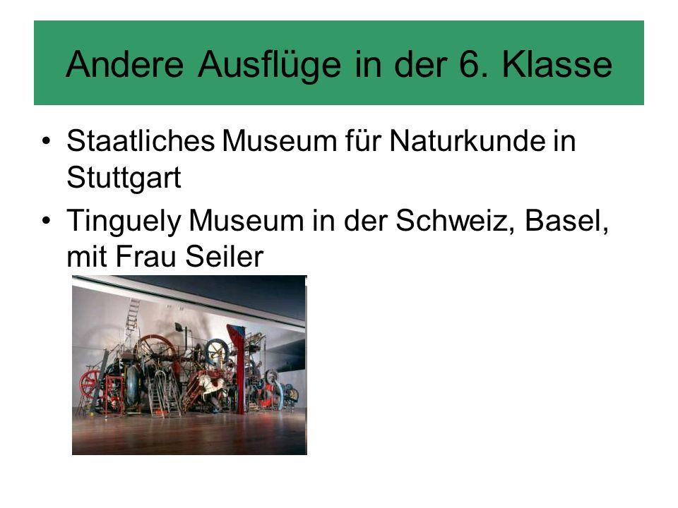 7. Klasse ZKM (Zentrum für Kunst und Medientechnologie) in Karlsruhe