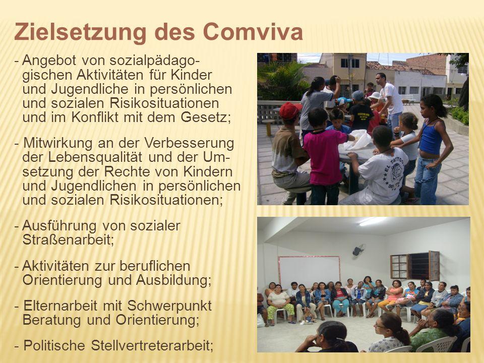 - Angebot von sozialpädago- gischen Aktivitäten für Kinder und Jugendliche in persönlichen und sozialen Risikosituationen und im Konflikt mit dem Gese