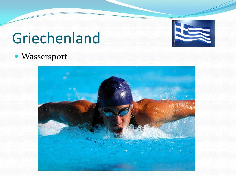 Griechenland Wassersport