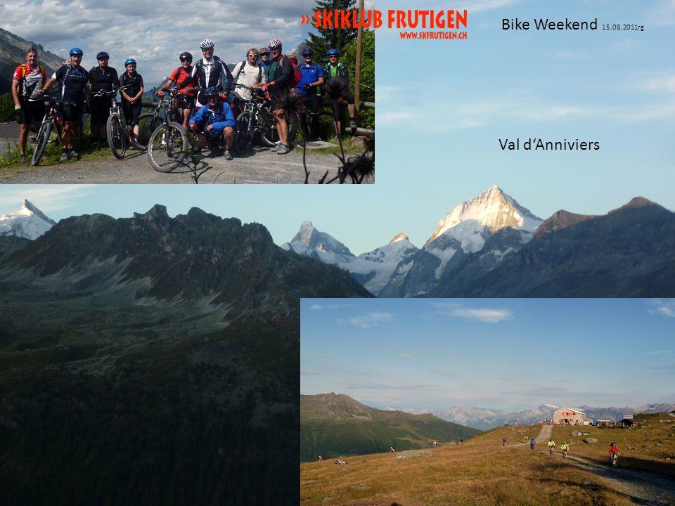 Bike Weekend 15.08.2011rg Val dAnniviers