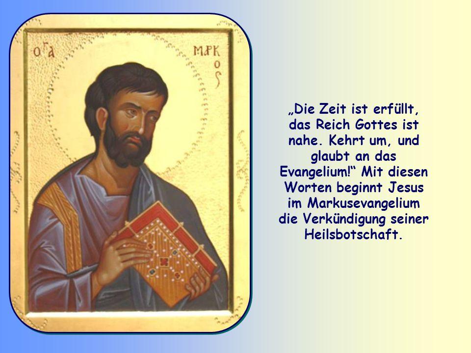 Kehrt um, und glaubt an das Evangelium!