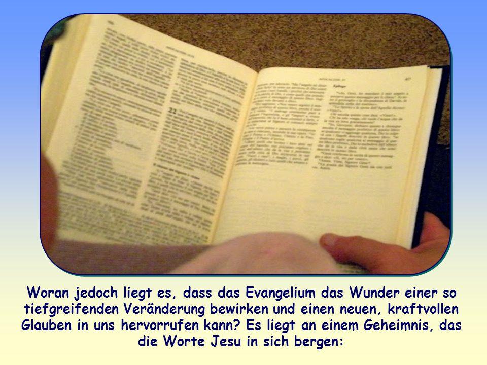 Gottes Wort bewirkt, wenn es aufgenommen und gelebt wird, einen kompletten Bewusstseinswandel. Europäern, Asiaten, Australiern, Amerikanern und Afrika