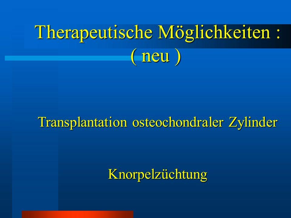Literatur Pridie KH JBJS 1959 41:618-619 A method of resurfacing osteoarthritic joints