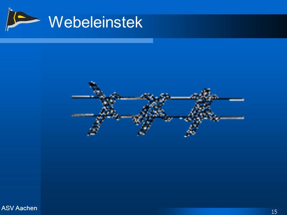 ASV Aachen 15 Webeleinstek