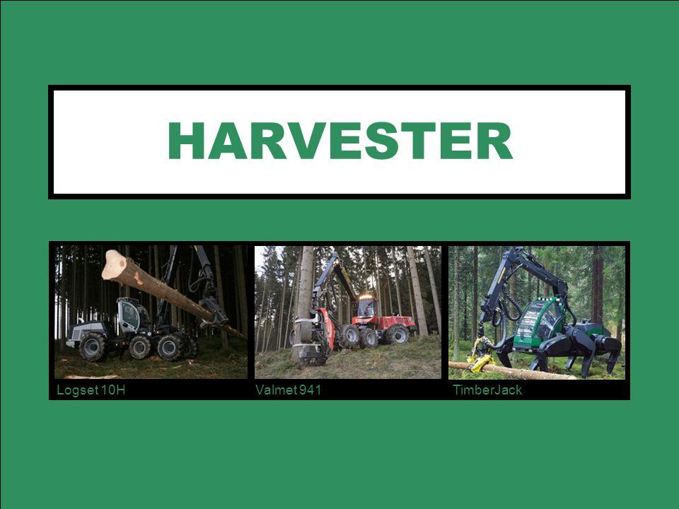 HARVESTER Logset 10H Valmet 941 TimberJack