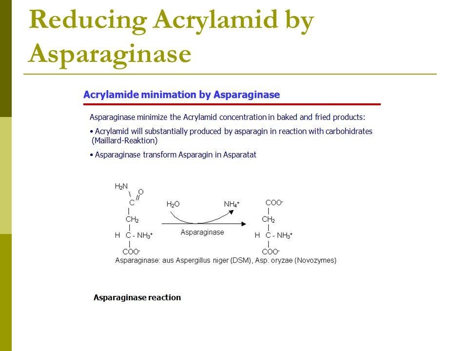 Reducing Acrylamid by Asparaginase
