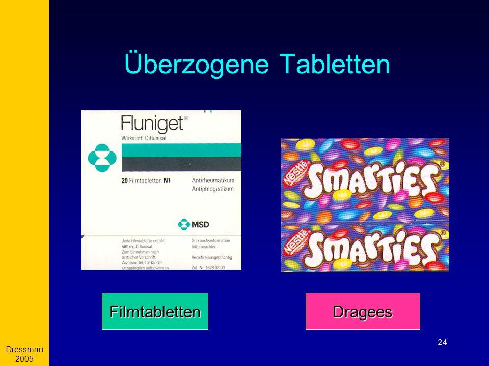 Dressman 2005 24 Überzogene Tabletten FilmtablettenDragees
