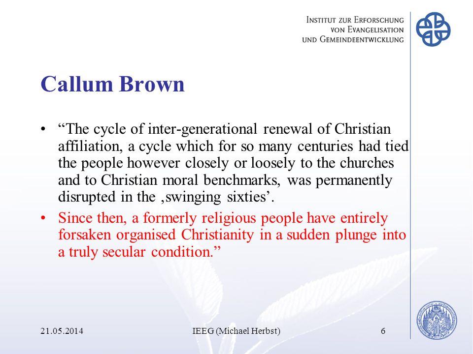 Welche Faktoren führen zu einer Verlebendigung sowohl des individuellen Glaubens als auch der Gemeinde als ganzer.