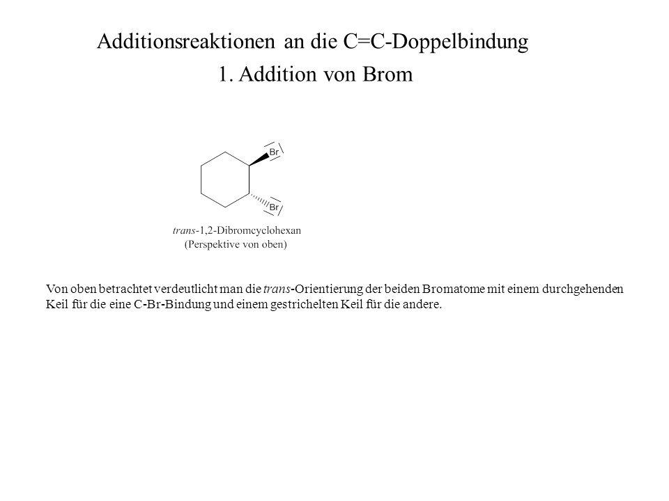 Achtung: Das Spiegelbild dieses Moleküls ist nicht deckungsgleich mit dem Ausgangsmolekül.