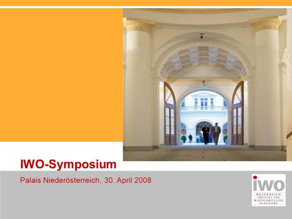 IWO-Symposium Palais Niederösterreich, 30. April 2008