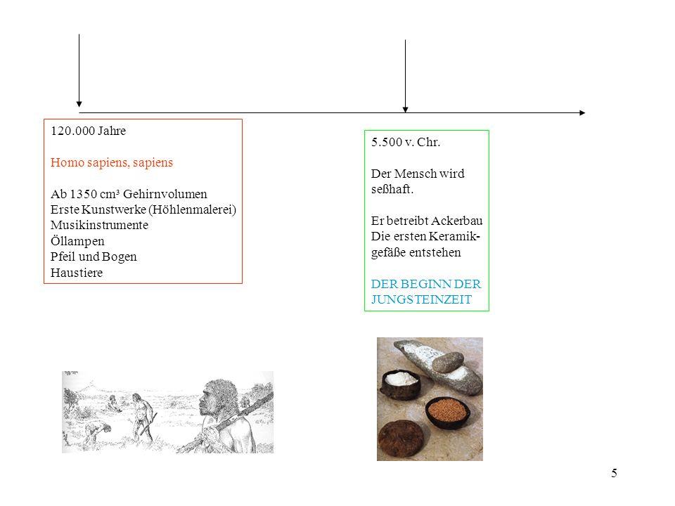6 3000 vor Christus: Der Beginn der menschlichen Geschichte: Die Sumerer erfinden die Keilschrift Die Chinesen sind ein wenig später dran, ca.