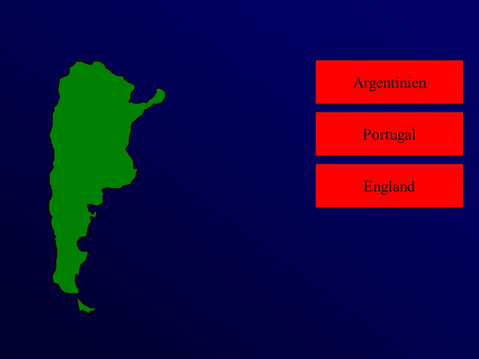 Argentinien England Portugal
