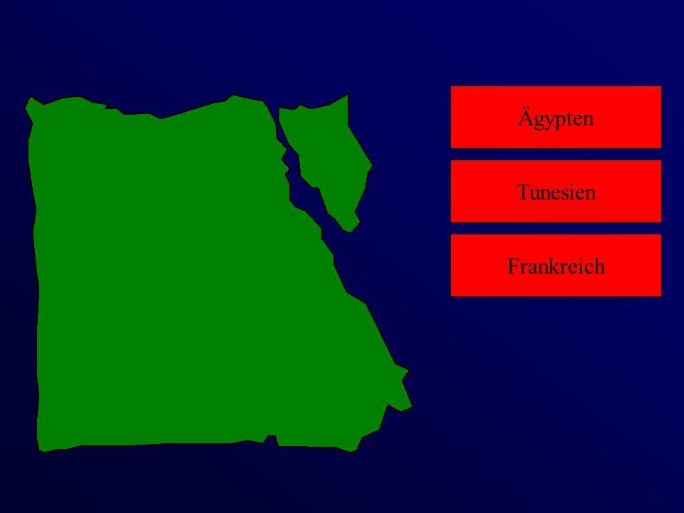 Ägypten Frankreich Tunesien