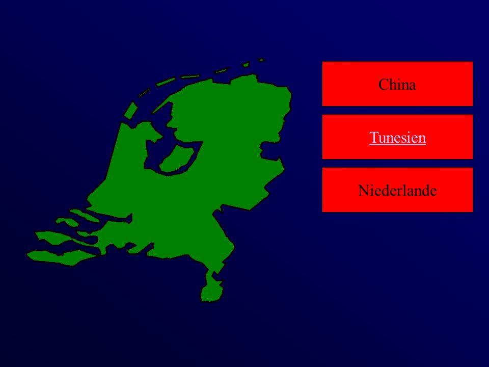 China Niederlande Tunesien