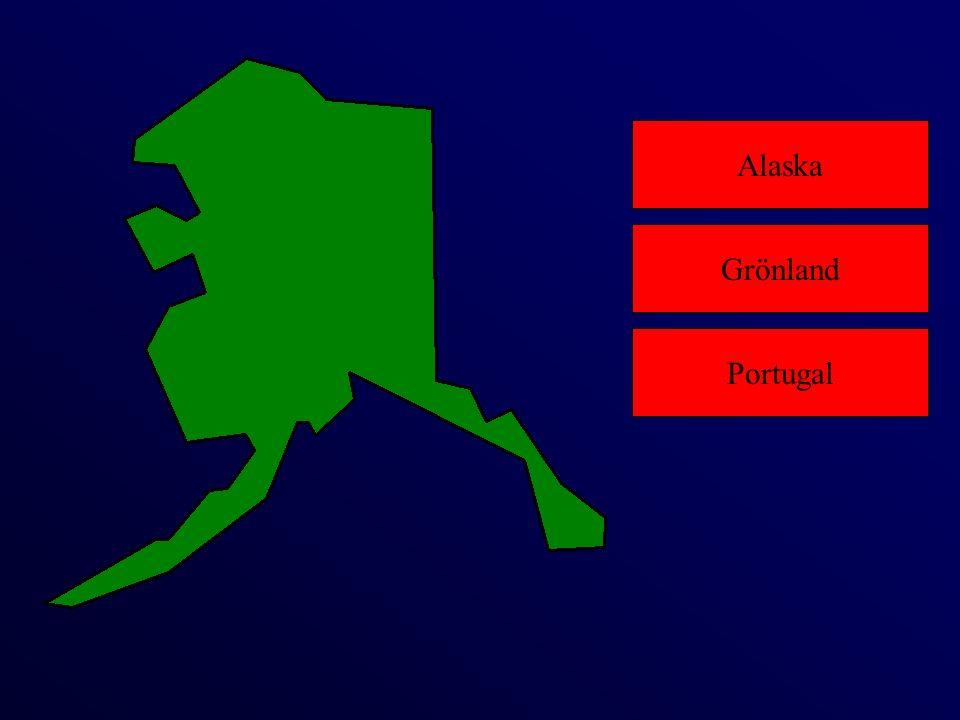 Alaska Portugal Grönland