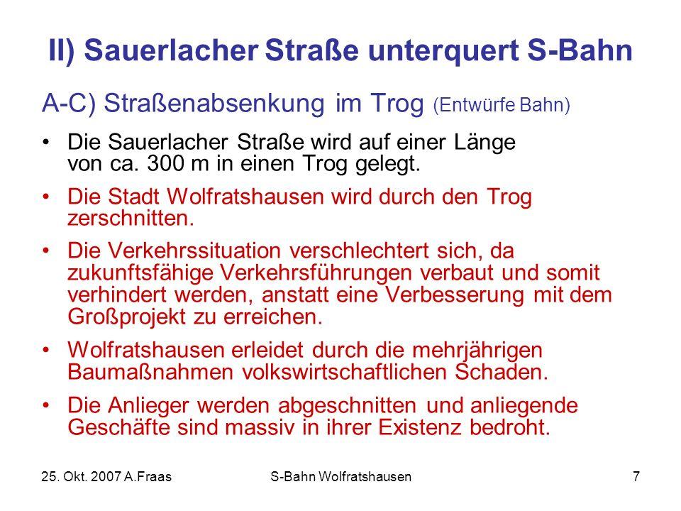 25. Okt. 2007 A.FraasS-Bahn Wolfratshausen8 Luftbild Sauerlacher Straße