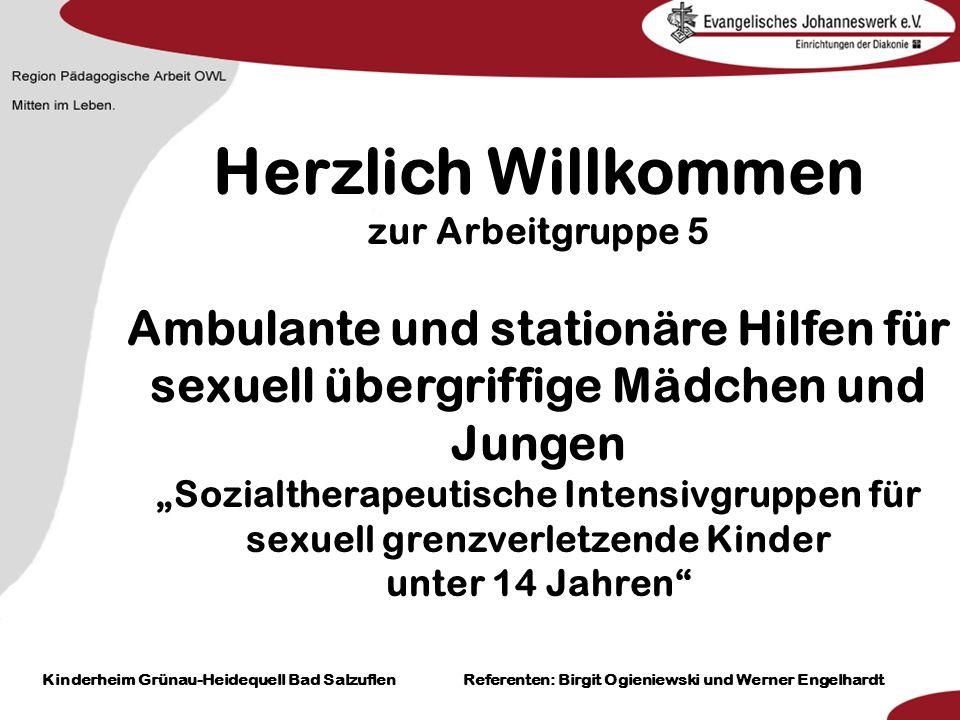 Heilpädagogisch- therapeutische Einrichtungen Grünau-Heidequell Bad Salzuflen Birgit Ogieniewski Klicken Sie, um das Titelformat zu bearbeiten Klicken
