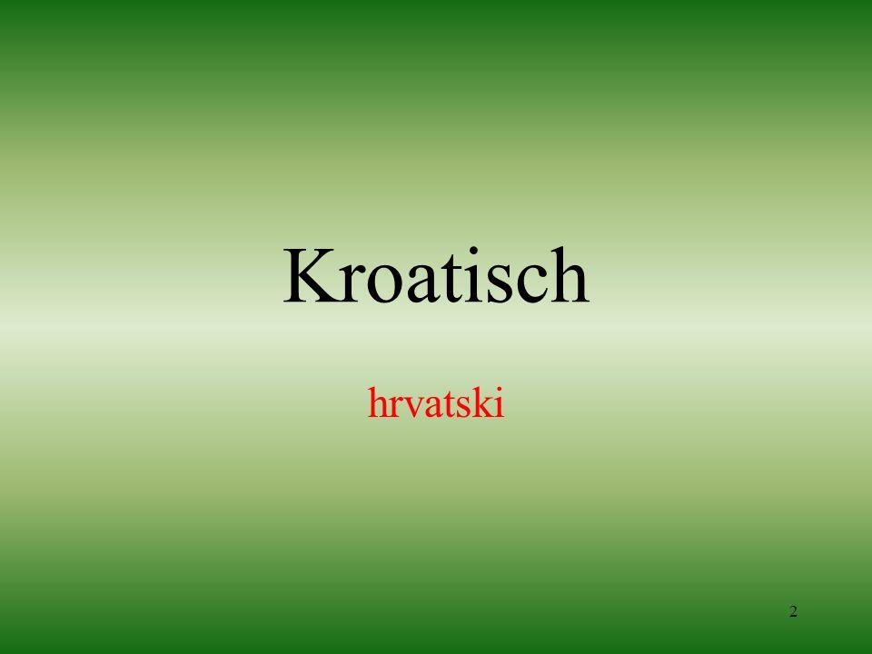 2 Kroatisch hrvatski