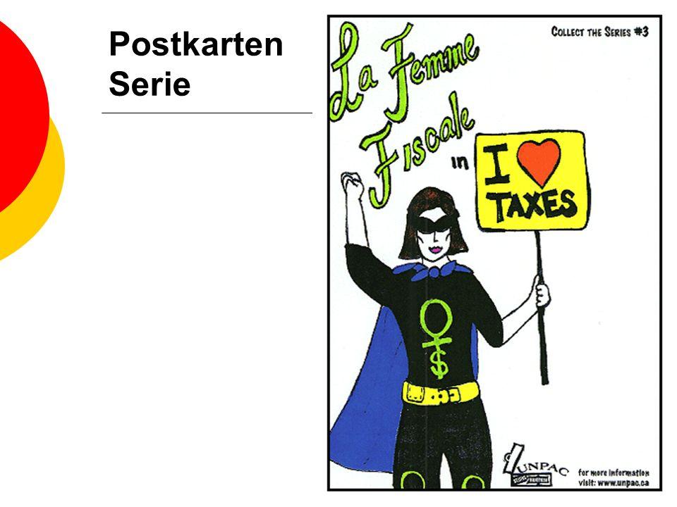 Postkarten Serie