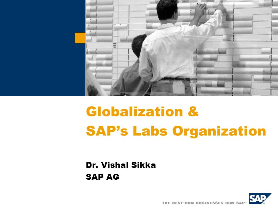 SAP AG 2006, Title of Presentation / Speaker Name / 2 Global SAP Network SAP Labs US (Palo Alto) SAP Labs Canada (Montréal) SAP Labs Germany (Walldorf) SAP Labs Hungary (Budapest) SAP Labs Bulgaria (Sofia) SAP Labs Israel (Raanana) SAP Labs India (Bangalore) SAP Labs China (Shanghai)