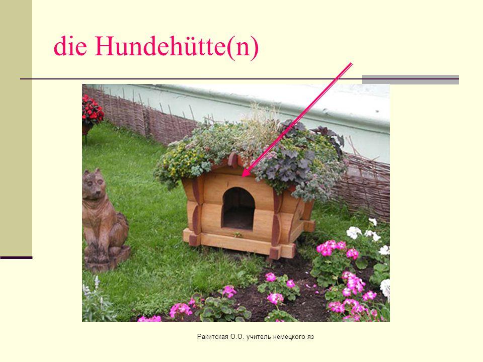 der Garten (ä) Ракитская О.О. учитель немецкого яз