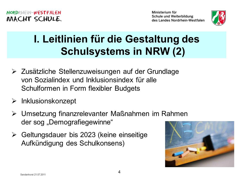 5 Sendenhorst 21.07.2011 Gemeinschaftsschule in NRW II.