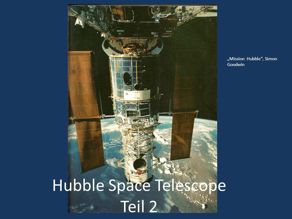 Hubble Space Teleskop Höhe = 575 km Umlaufzeit = 96 min Bahnneigung = 28,45° http://de.wikipedia.org/wiki/Hubble-Weltraumteleskop