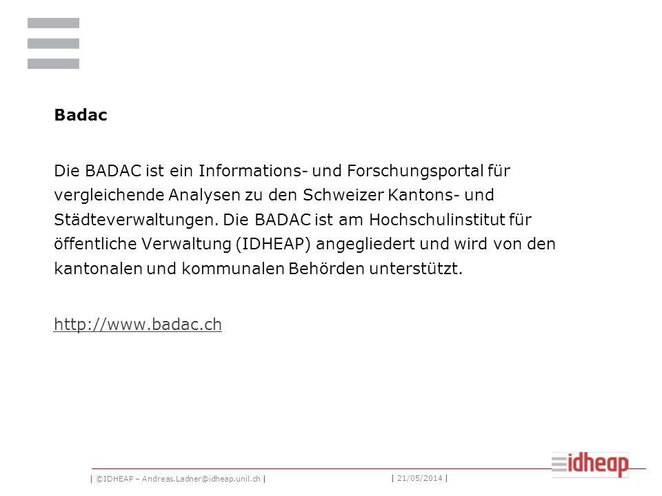 | ©IDHEAP – Andreas.Ladner@idheap.unil.ch | | 21/05/2014 | Année Politique Suisse (APS) Das politische Jahrbuch der Schweiz enthält zusammengefasst die wichtigsten Ereignisse des Jahres.