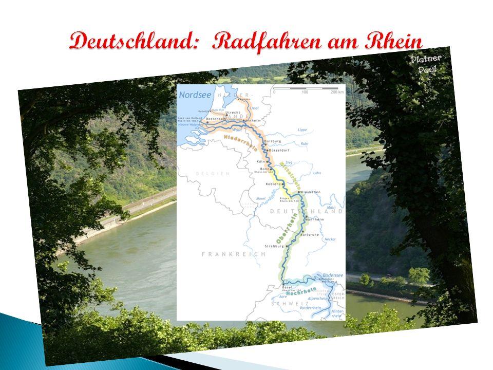 Wir waehlten den Fahrrad, um die Rheinatmosphäre zu fühlen, um frische Rheinluft zu atmen, um die Natur zu bewundern, um die Strassenstaus zu vermeiden, um problemlos zu parken, um Geld zu sparen, um abzunehmen …