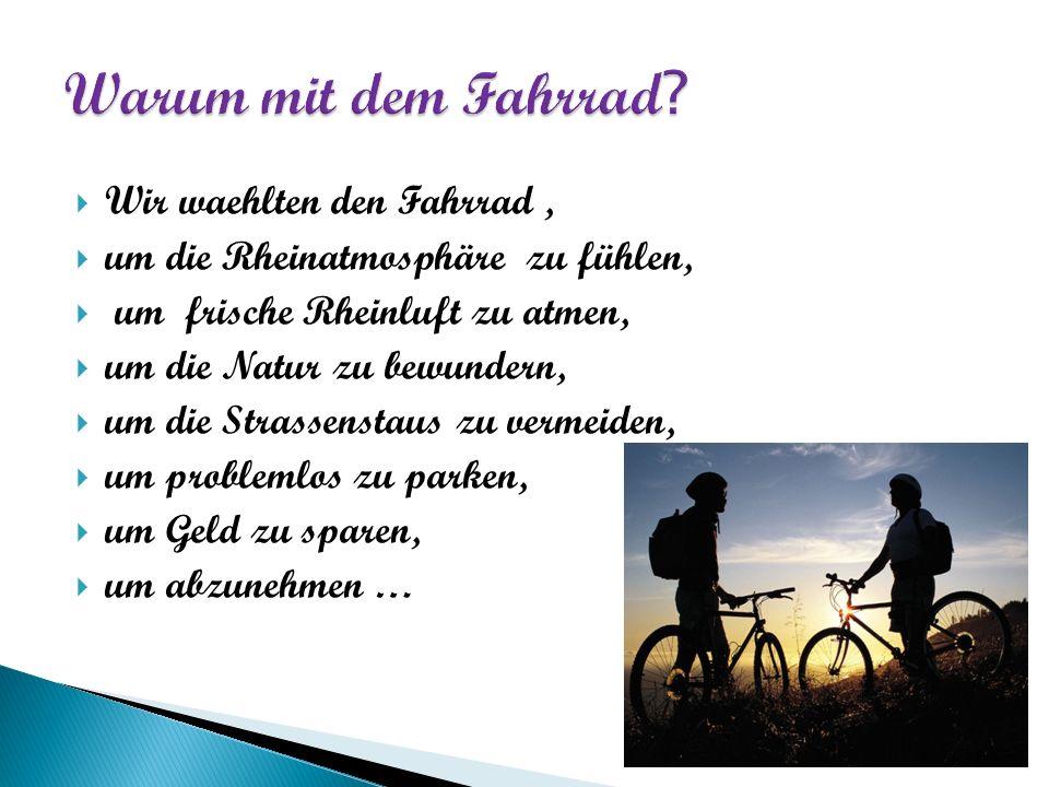 Die Stadt Ludwigshafen ist nicht der schönste Ort, um mit dem Fahrrad vorbei zu fahren.