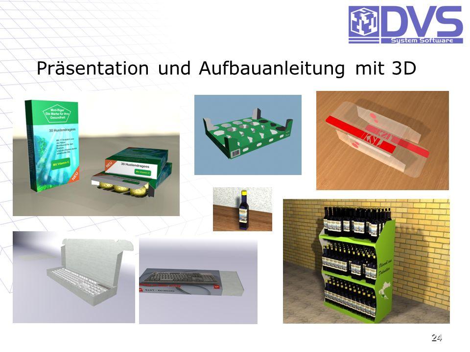 Präsentation und Aufbauanleitung mit 3D 24