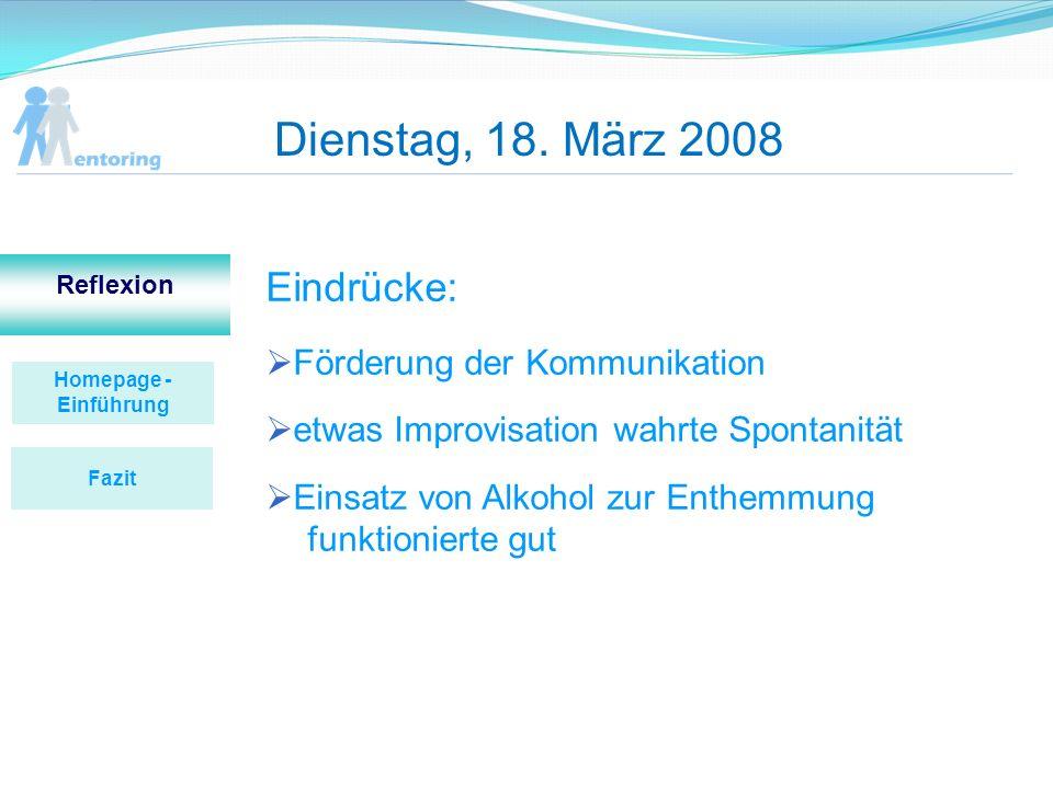 Homepage - Einführung Reflexion Homepage- Einführung Vorher mangelnde Übersichtlichkeit unzureichende Benutzerfreundlichkeit zwingende Forumsanmeldung Zeitaufwand Fazit