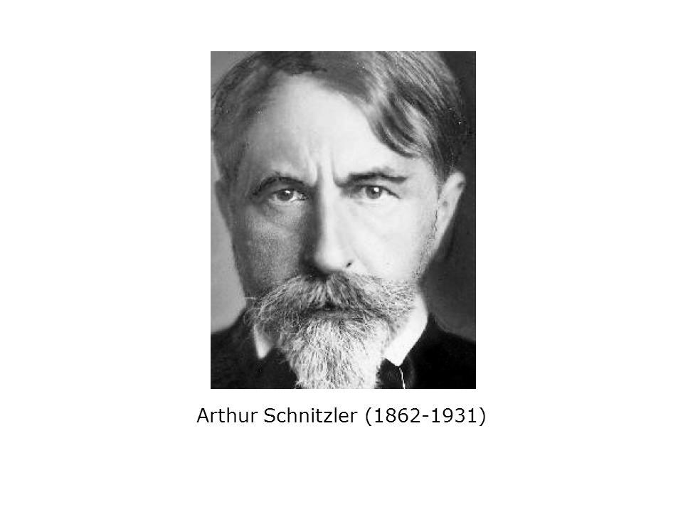 Arthur Schnitzler (1862-1931)