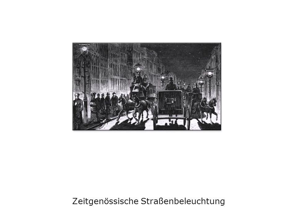 Zeitgenössische Straßenbeleuchtung