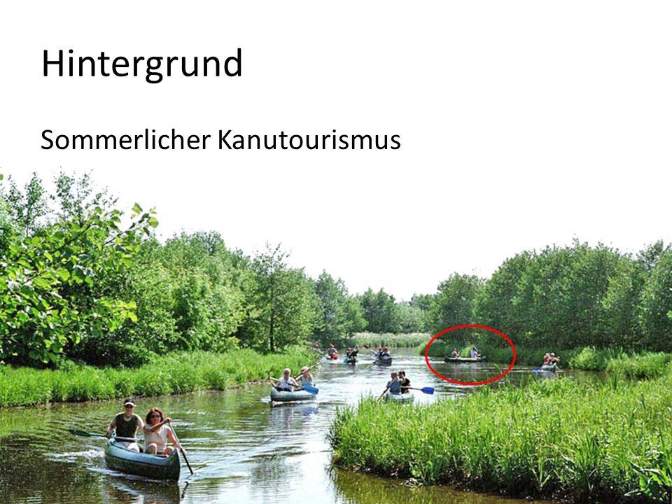 Projektziel Schutz von Biotopen und Wasservogelnestern entlang der Kanustrecke naturverträglicher Kanutourismus