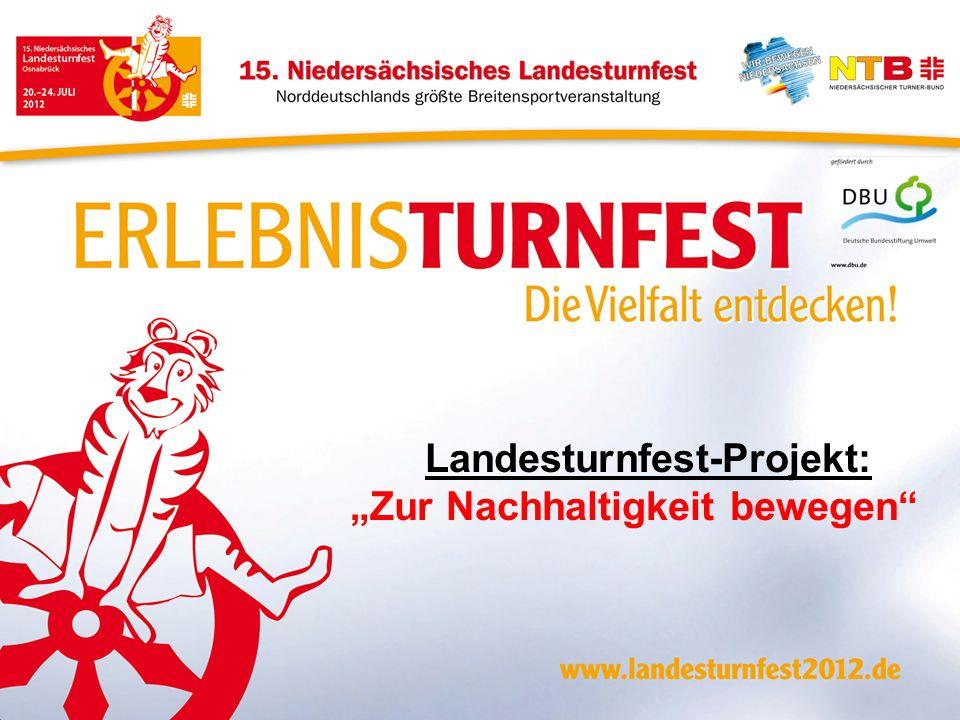 Landesturnfest-Projekt: Zur Nachhaltigkeit bewegen