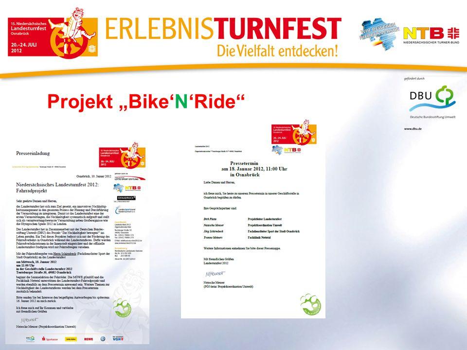 Projekt BikeNRide