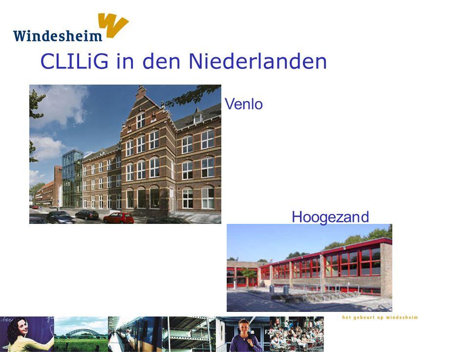 CLILiG in den Niederlanden Venlo Hoogezand
