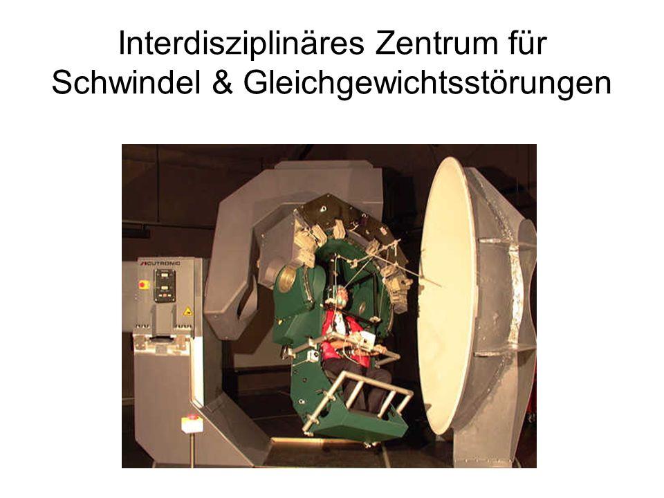 Interdisziplinäres Zentrum für Schwindel & Gleichgewichtsstörungen