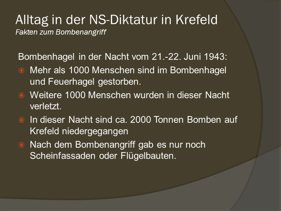 Bombenhagel in der Nacht vom 21.-22. Juni 1943: Mehr als 1000 Menschen sind im Bombenhagel und Feuerhagel gestorben. Weitere 1000 Menschen wurden in d