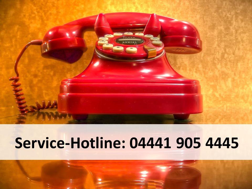 Service-Hotline: 04441 905 4445