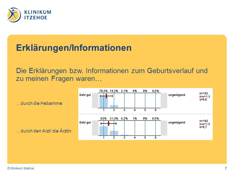 7© Klinikum Itzehoe Erklärungen/Informationen Die Erklärungen bzw.