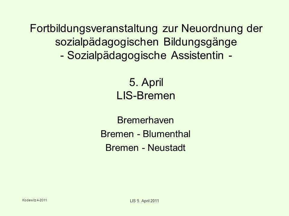 Kodewitz 4-2011 LIS 5. April 2011 workshop 3 - Präsentation