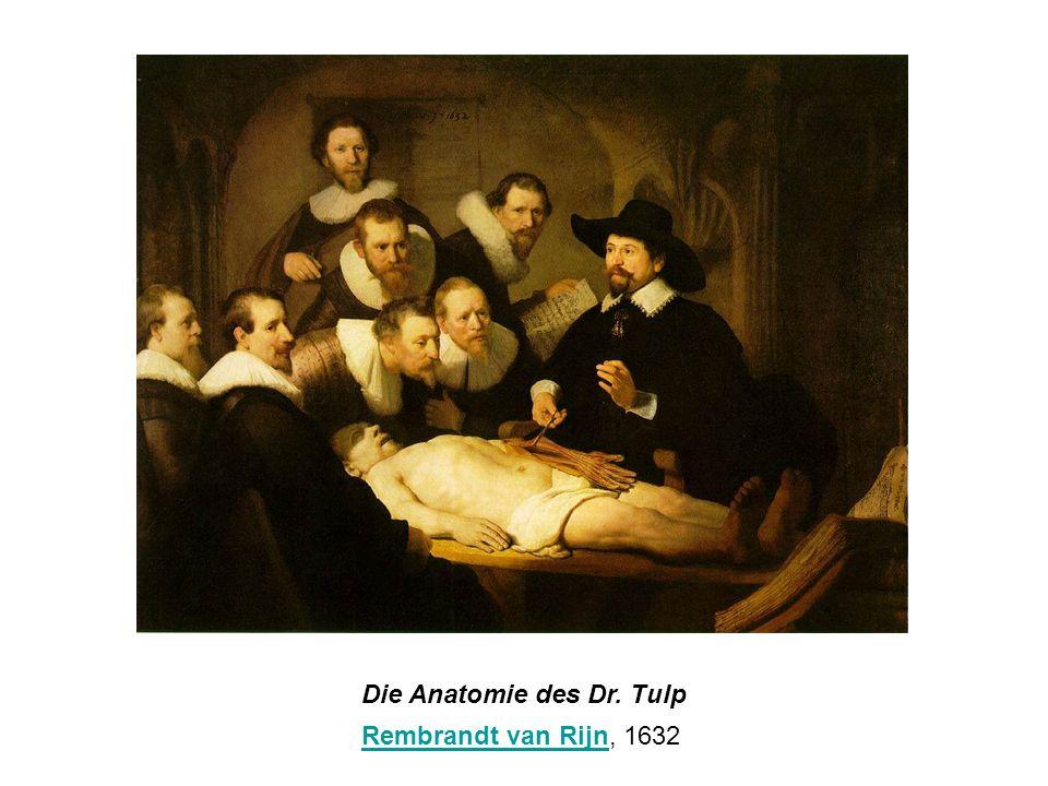 Die Anatomie des Dr. Tulp Rembrandt van RijnRembrandt van Rijn, 1632